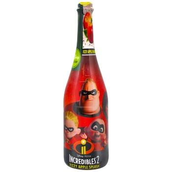 Шампанское детское Суперсемейка Яблоко 0,75л - купить, цены на СитиМаркет - фото 1