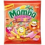 Конфеты Mamba Фантастик микс жевательные 150г