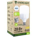 Лампа светодиодная Enerlight 28Вт E27 6500K