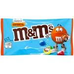 Драже M & M`s Salted Caramel з молочним шоколаді в різнокольоровій глазурі 36г