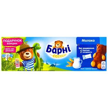Пирожное Медвежонок Барни бисквитное с молочной начинкой 150г - купить, цены на УльтраМаркет - фото 2