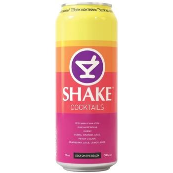 Напій Шейк Секс на пляжі слабоалкогольний газований 7% об. 500мл - купити, ціни на CітіМаркет - фото 2