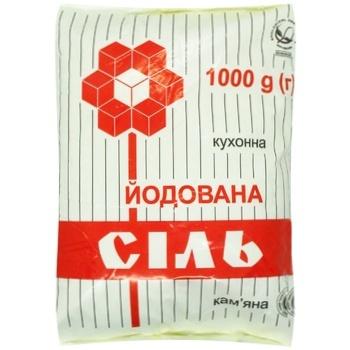 Artyomsol iodized salt 1kg - buy, prices for CityMarket - photo 1