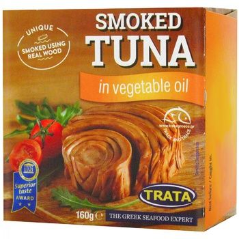 Trata In Vegetable Oil Smoked Tuna 160g