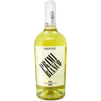 Вино Farnese Primi Bianco белое сухое 12,5% 0,75л