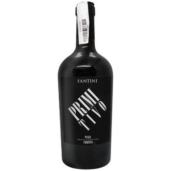 Вино Farnese Primi Tivo красное полусухое 13,5% 0,75л