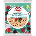Каша овсяная AXA со сливками малиной и ежевикой моментального приготовления 40г