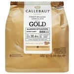 Шоколад Callebaut Gold білий з карамеллю без глютену 30,4% 400г