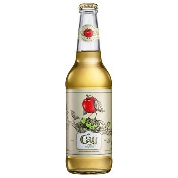 Сидр де Сад яблочный 4,7% 0,45л - купить, цены на СитиМаркет - фото 1