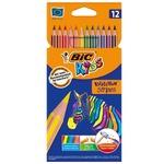 BIC Kids Evolution Stripes 12pcs