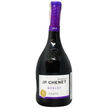 Вино J.P.Chenet Merlot красное сухое 13% 0,75л