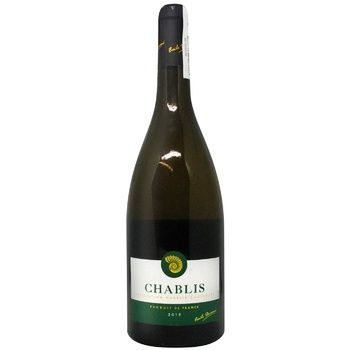 Emile Duran Chablis Wine white dry 12.5% 0,75l