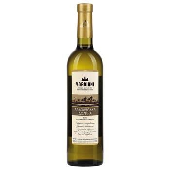 Vardiani Alazani Valley White Semi-Sweet White Wine 9-13% 0,75l - buy, prices for CityMarket - photo 2