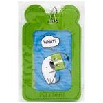 Бейдж Kite на шнурку вертикальний зелений