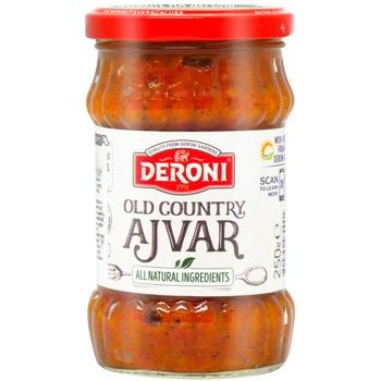 Овощная икра Deroni Айвар 250г - купить, цены на Метро - фото 1