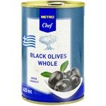 METRO Chef Black olive with bone 425ml