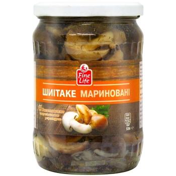 Fine Life Shiitake Pickled Mushrooms