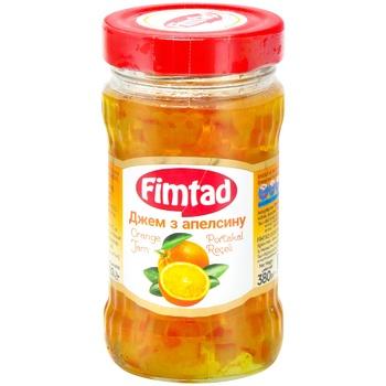 Джем Fimtad с апельсина 380г
