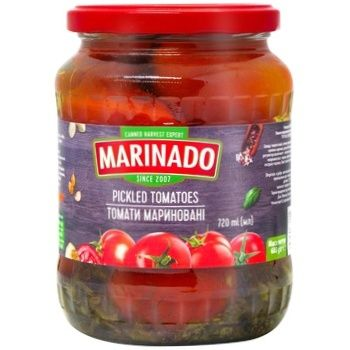 Marinado Pickled Tomatoes 720ml - buy, prices for CityMarket - photo 1