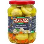 Шампиньоны Marinado маринованные целые 0,72л