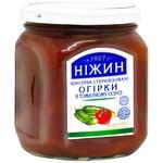 Огурцы Нежин в томатном соусе 450г