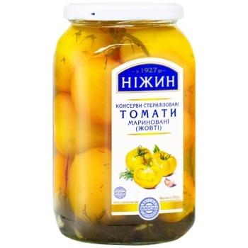Nezhin marinated yellow tomatoes 920g