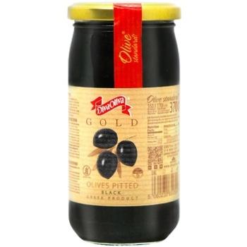 Маслины DivaOliva черные без косточки 370мл