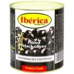 Iberica Pitted Black Olives 3000ml