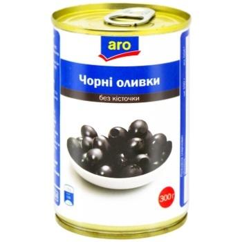 Aro without bone black olive 300g