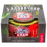 Ветчина Алан тушеная консервированная 325г - купить, цены на СитиМаркет - фото 2
