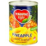 Pineapple rings Tropic life 580ml