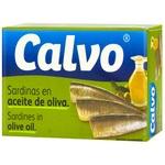 Сардина Calvo в оливковом масле 120г