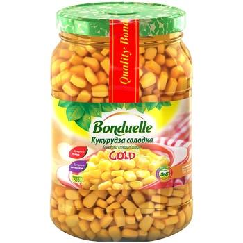 Кукуруза Бондюэль Голд сладкая 580мл - купить, цены на Novus - фото 1