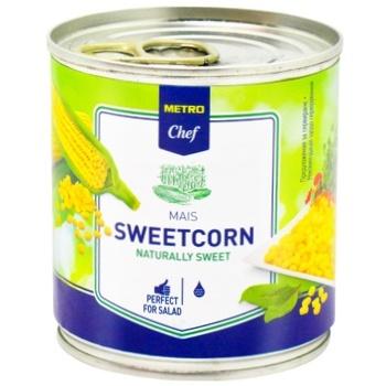 Кукуруза сахарная METRO Chef вакуумированная 212мл