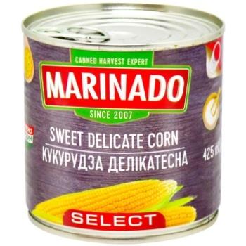 Кукуруза Marinado деликатесная 425г - купить, цены на Восторг - фото 1