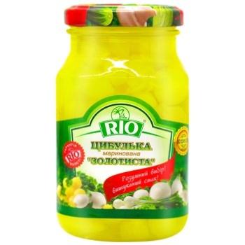 Лучок Rio золотистый маринованный 300мл