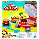 Play Doh Burger Grill Set