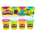 Игровой набор Hasbro Play-Doh тесто для лепки 4 баночки 448г - купить, цены на Novus - фото 4