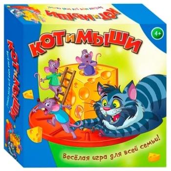 Игра настольная Dream Makers Кот и мыши - купить, цены на МегаМаркет - фото 1