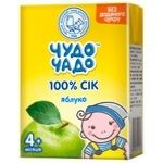 Chudo-Chado green apple juice for children from 4 months 200ml