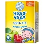 Chudo-Chado apple-cherry juice for children from 5 months 200ml