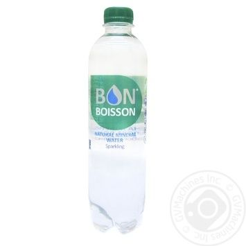 Вода Bon Boisson минеральная слабогазированная 500мл - купить, цены на Фуршет - фото 1