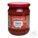 Tomato paste Marinado tomato 500g glass jar