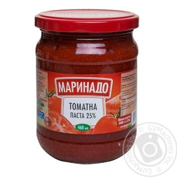 Томатна паста Маринадо 25% 460мл