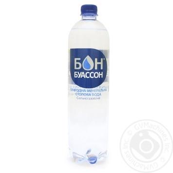 Вода Bon Boisson минеральная сильногазированная 1л