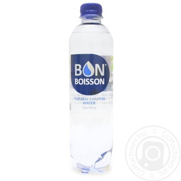 Вода минеральная Бон Буассон сильногазированная 0,5л
