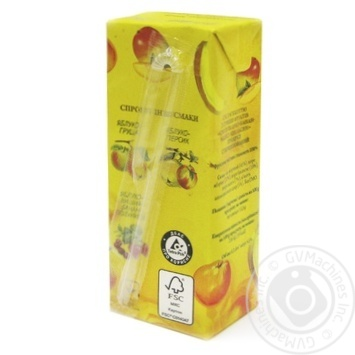 Galicia Smoothie Apple-Banana-Mango-Orange juice 200ml - buy, prices for Auchan - image 6