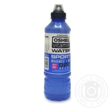 Напій Oshee Vitamin Water Sport Магній + В6 0,75л - купити, ціни на МегаМаркет - фото 1