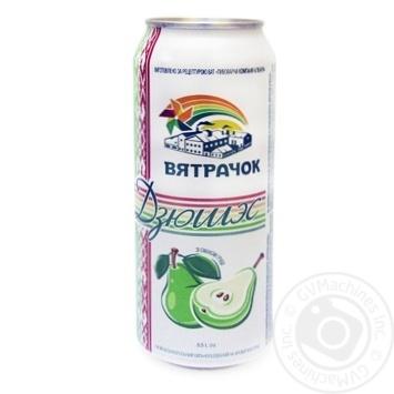 Напиток Вятрачок Дюшэс сильногазированный ж/б 0,5л