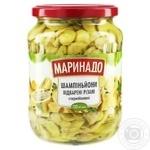 Marinado boiled cuted champignons 650g